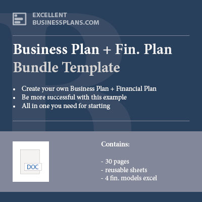 Businessplan and Financial Plan bundle template